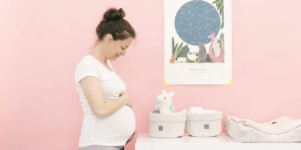 babykamer klaarmaken